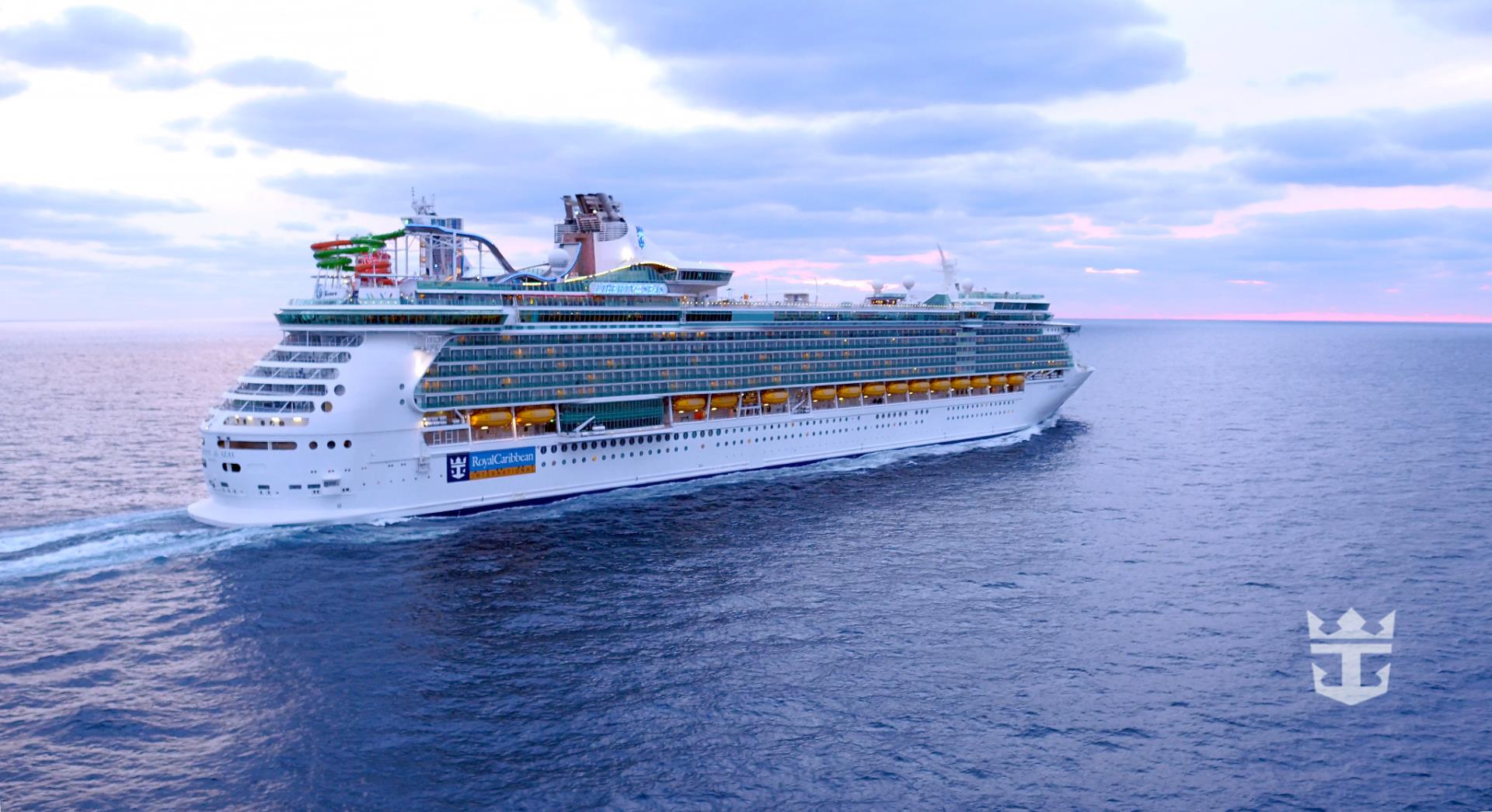Liberty of the Seas Starboard Side